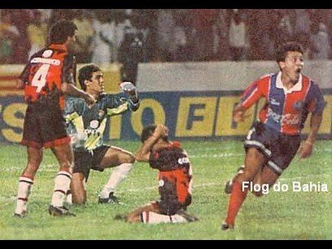 Bahia 1 x 1 Vitória - Bahia Bicampeão Baiano 93/94 (BAVI de Raudinei) - COMPACTO
