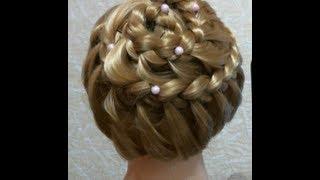 Прическа на каждый день. Braided hairstyle for every day(В этом видео я вам покажу как сделать классную прическу =) Музыка из видео: http://www.youtube.com/user/TheQLon Подписывайте..., 2013-02-17T19:04:26.000Z)
