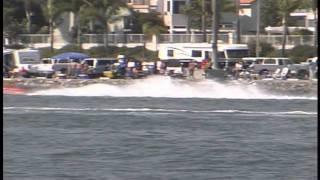 Superstock Race boats Long Beach Marine Stadium 2002