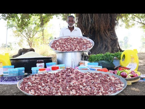 Traditional Mutton Biryani Recipe | World Famous Hyderabad Goat Biryani  by Grandpa