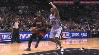 LeBron James Accidently Flashes Everyone During NBA Finals Game