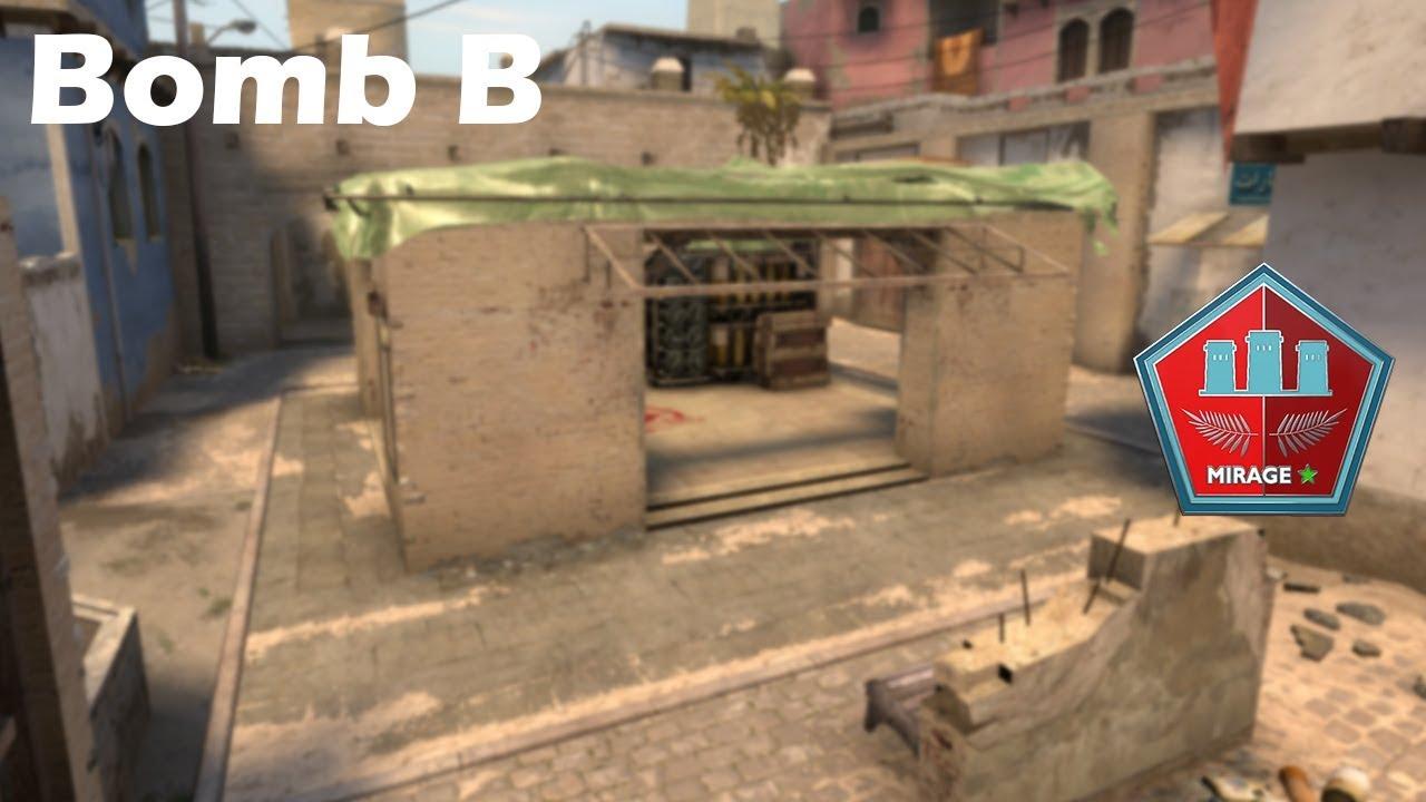 DICAS DE CS - Smoke Bomb B - Parte1 (Mirage)