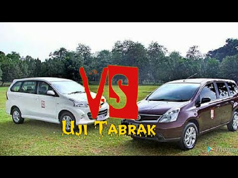 Uji Tabrak Grand New Avanza Konsumsi Bbm 2016 Bingung Milih Crash Test Toyota Vs Nissan Livina Sungguh Hasilnya Ep 4
