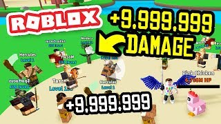 +9,999,999 ATTACK DAMAGE in ROBLOX EGG FARM SIMULATOR