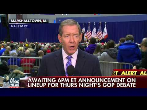 Carl Cameron previews Thursday's Fox News/Google GOP debate