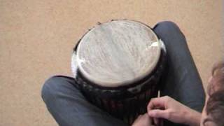 Djembe rhythms and grooves part 1 - Kuku, Kono, Yankady, Rumba etc
