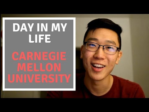 A Day In My Life At Carnegie Mellon University