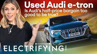 Audi e-tron used buyer's guide & review – Is this half-price bargain a stellar buy? / Electrifying