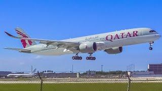 (4K) EPIC Evening Plane Spotting at Miami International Airport