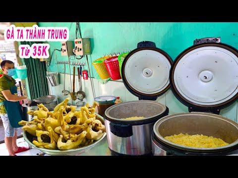 Chủ Quán Gà Ta Sài Gòn chia sẻ bí quyết luộc Gà Da Giòn màu vàng đẹp tự nhiên