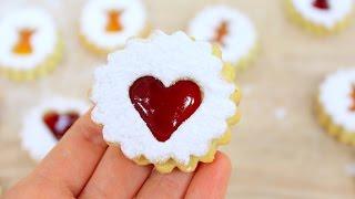 Рождественское печенье с джемом / Linzer Cookies