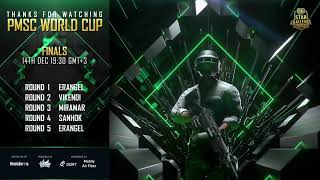 PMSC World Cup 2019 | Day 2 | PUBG MOBILE STAR CHALLENGE
