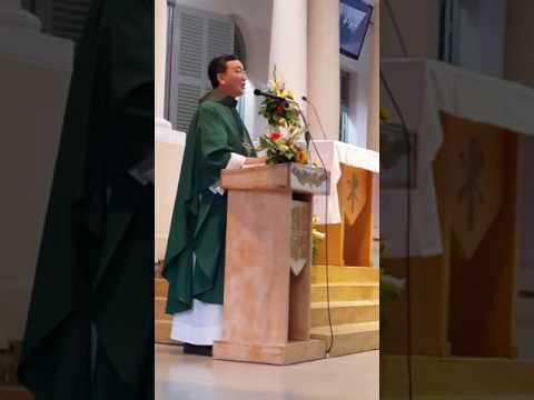 BÀI GIẢNG CỦA CHA JS BÌNH CHIỀU CN 15 / 1 / 2017 TẠI GX THÁNH AN TÔN