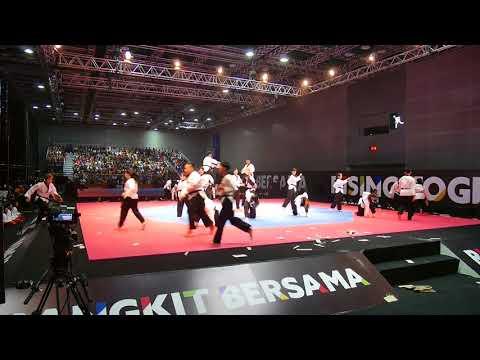 Kuala Lumpur SeaGame 2017 Team Arena Taekwondo opening ceremony