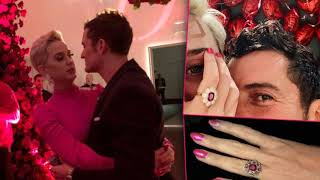 Katy Perry And Orlando Bloom Are Engaged! SEE THE ENGAGEMENT RING [PICS]
