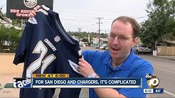 For San Diego and Chargers, it's a complicated relationship