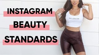 Decoding the Instagram Beauty Standard