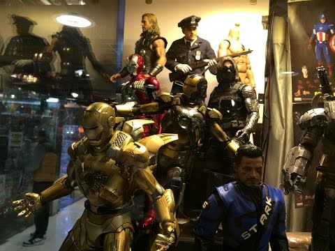 Where to buy Hot Toys and figures in Hong Kong