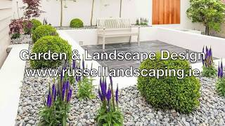 Russell Landscaping Cork - Landscape Construction - Residential - Small Garden