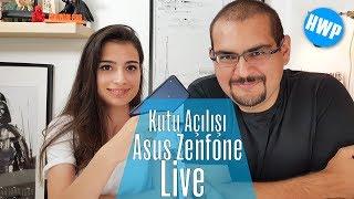 Asus ZenFone Live Kutu Açılışı