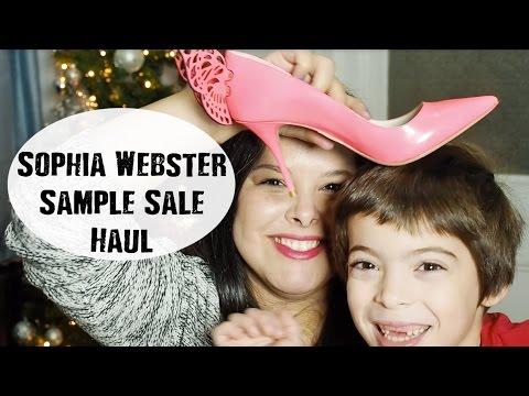 Sophia Webster Sample Sale Haul