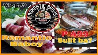 ROMANTIC BABOY (samgyupsal) // Vlog#9 //JAMES ROMERO