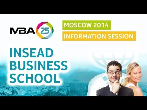 Information Session. INSEAD Business School