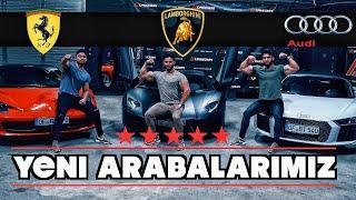 Yeni ARABALARIMIZ!!! | Lamborghini - Ferrari - Audi R8 | 310km/h BASTIK!