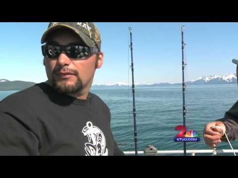 KTUU Channel 2 News June 2013 Fishing In Whittier Alaska