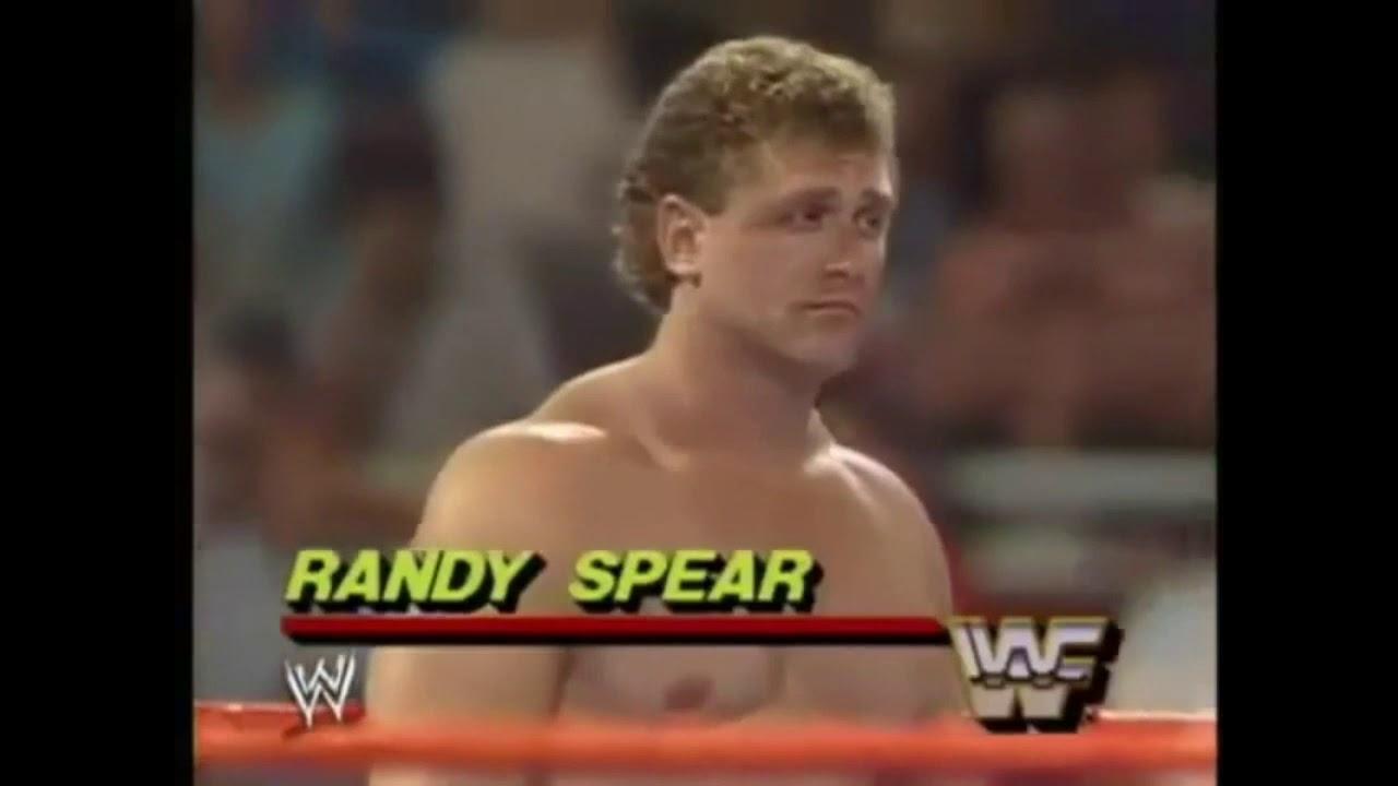 Bad News Brown Vs Jobber Randy Spear Wwf Wrestling Challenge 1988 Youtube