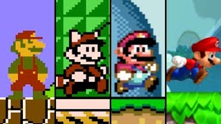 Evolution of Mario in 2D Games (1983- 2018)