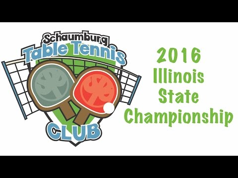 2016 Illinois State Table Tennis Championship - Day 1