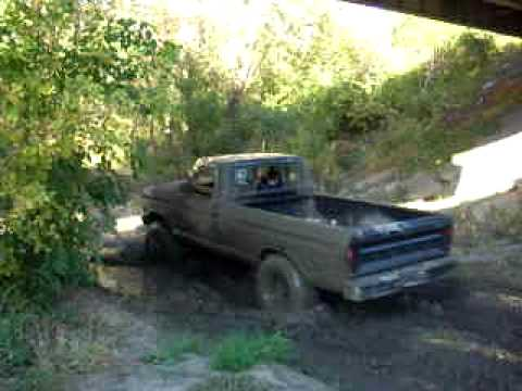 just a little mud in my 77 ford highboy youtube