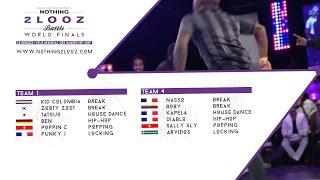 NOTHING2LOOZ WORLD FINALS 2017 - Team 1 VS Team 4 - Final