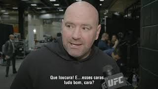 UFC Phoenix: Dana White - 'Houve bons nocautes e finalizações'