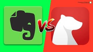 Evernote vs Bear   Full Showdown