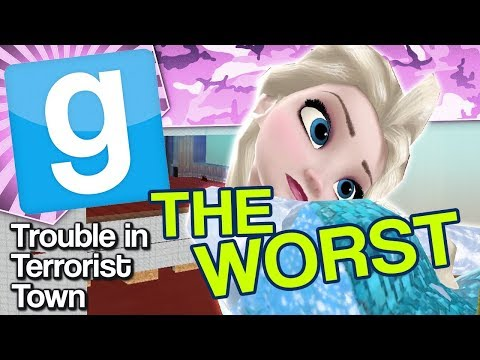 WORST MAP IN THE WORLD | Gmod TTT