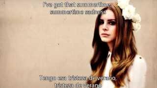 Lana Del Rey - Summertime Sadness subtitulos español ingles
