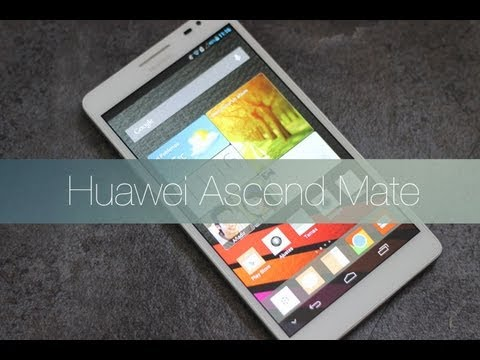 Huawei Ascend Mate: Videoreview