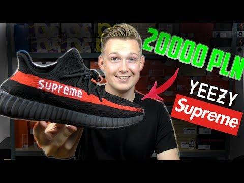 Kupiłem Yeezy Supreme!!! Unboxing i test butów za 200.00 PLN!!