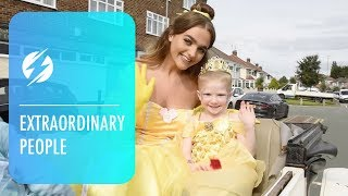 Four-Year-Old Cancer Survivor Spends Day As Princess