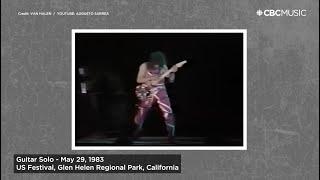 Top 5 Eddie Van Halen Live Solos