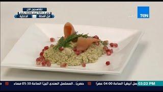 مطبخ 10/10 - الشيف أيمن عفيفي - الشيف رانيا قاسم - طريقة عمل سلطة سالمون بالإفوكادو