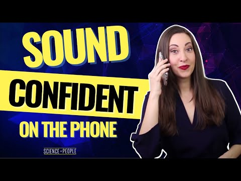 How to Sound Confident on the Phone with 5 Simple Steps