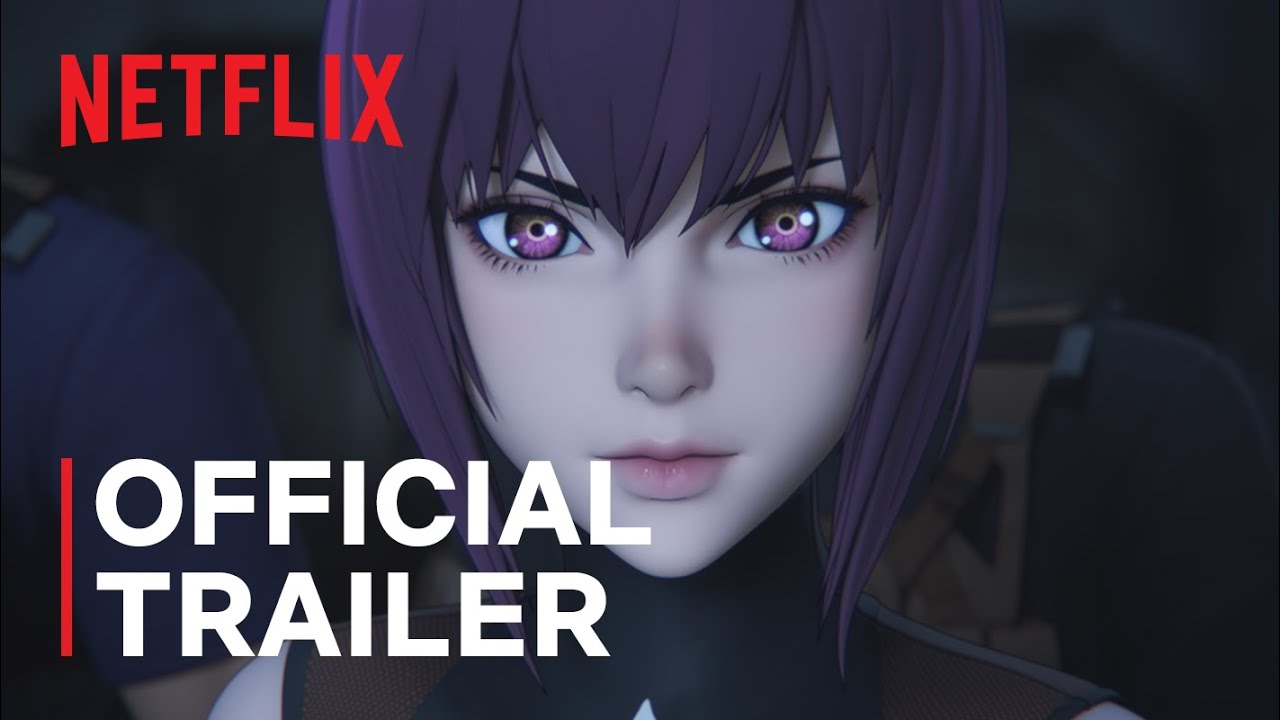 Ghost In The Shell Sac 2045 Official Trailer Netflix Youtube