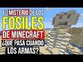 El MISTERIO de los fosiles de Minecraft ¿Que pasa cuando ...