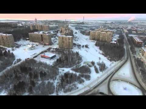 Видео — Морозный Оленегорск январь 2016