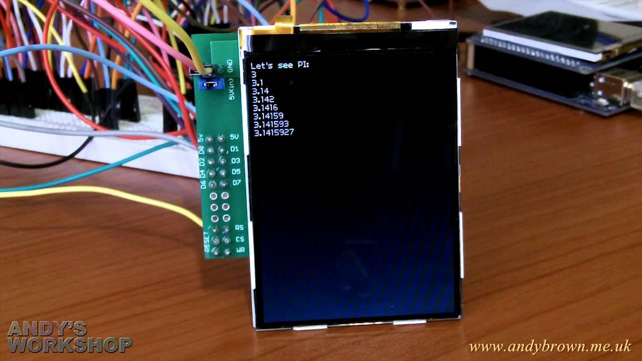 Reverse engineering the Nokia N95 8Gb QVGA LCD   Andys Workshop