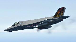 F-35B Airborne Gunfire Testing