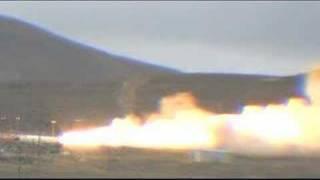 Space Shuttle Booster Rocket Test in Utah